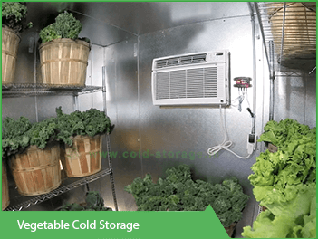 Cold Room for Vegetables, Fruits - www cold-storage in